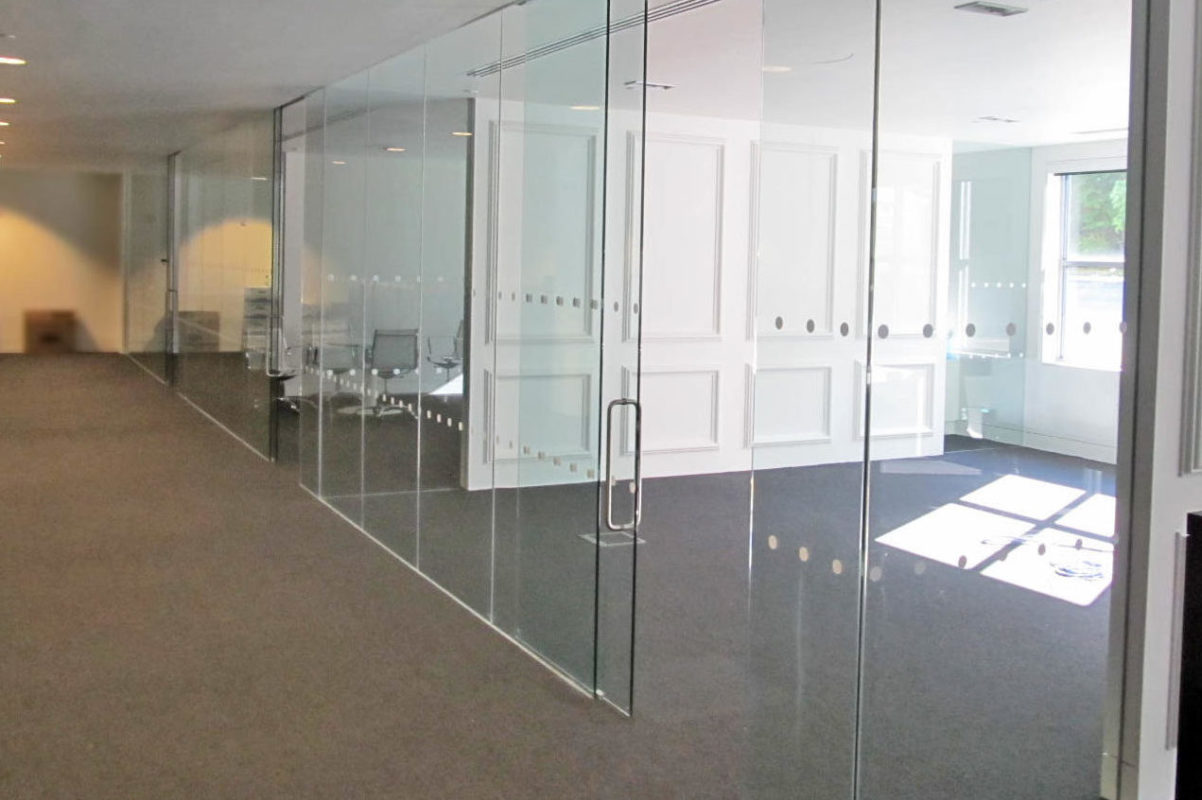 All Glass Office Fronts.