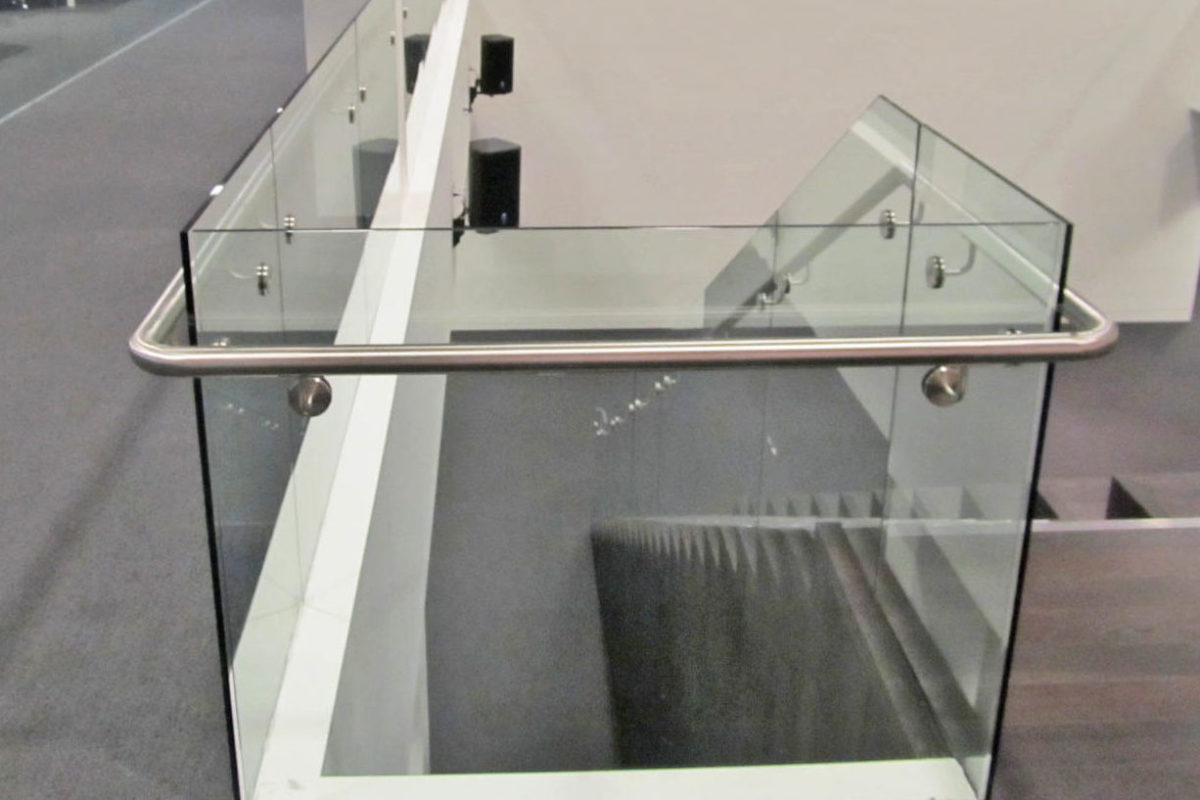Glass Guardrails + Hand Railing.