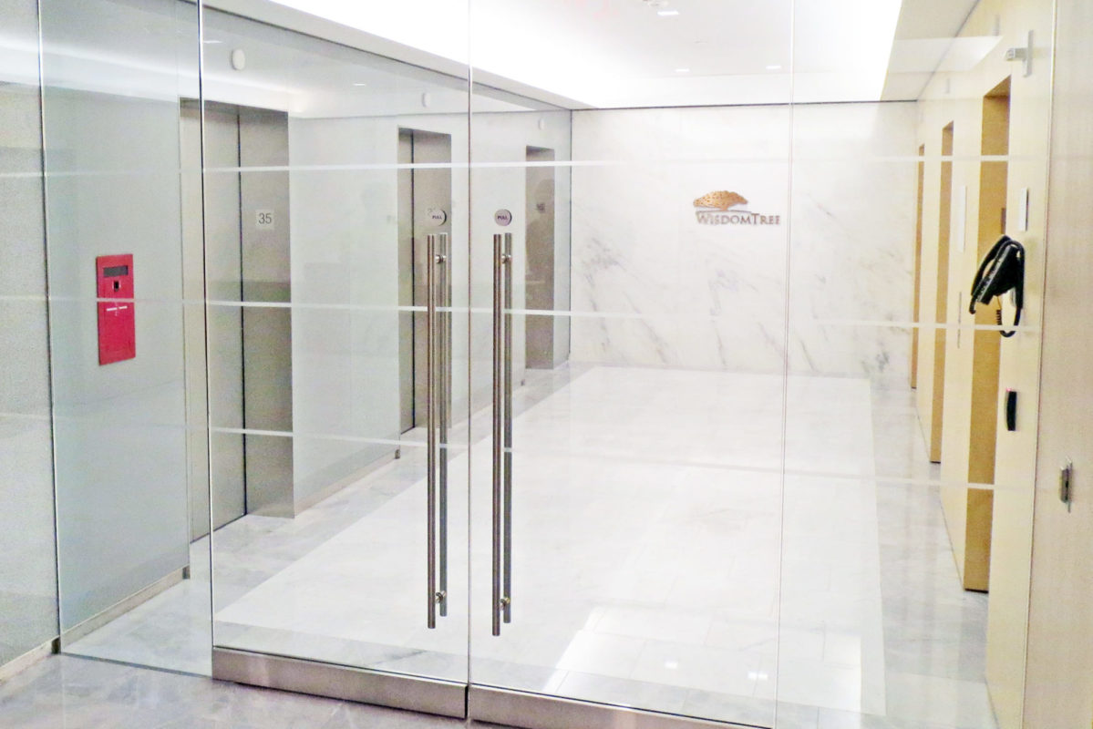 All Glass Entrance, Stainless Steel Elevator Door Portals & Doors + Back Painted Glass.Wisdom Tree – 245 Park Avenue – New York, NYVOA Architecture Associates