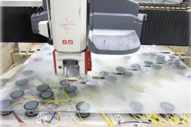 CNC Cut + Polished Holes + Slots.