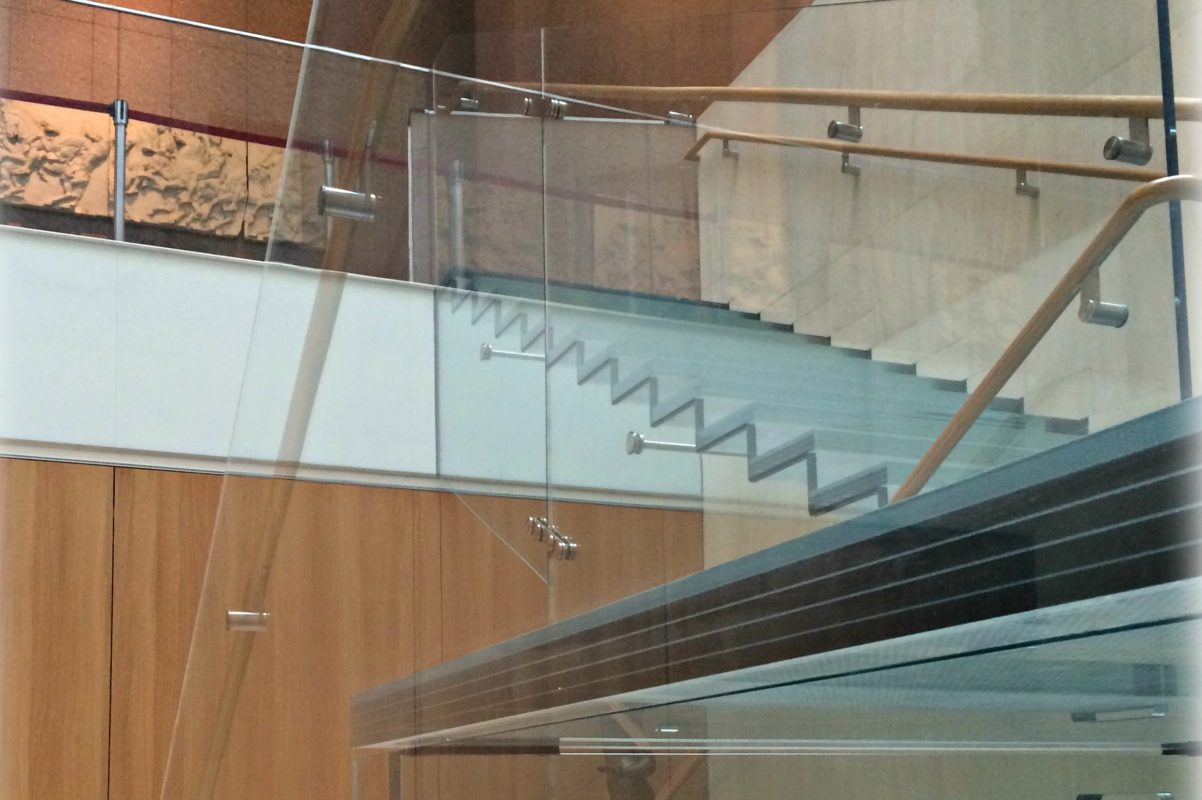Perfection In Architectural Glass Staircases.