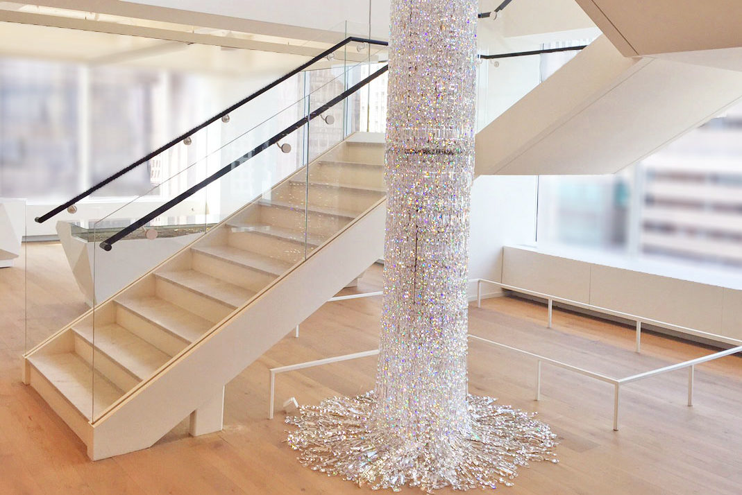 Mistral Was Chosen By Swarovski To Build A Main Stair In The Corporate Office Building In Manhattan.