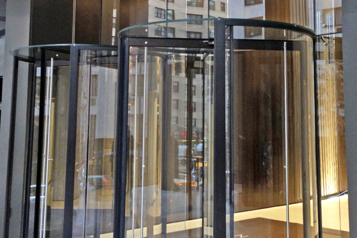All Glass Revolving Door + Structural Glass Storefront.1 Dag - Hammarskjold Plaza – 885 2nd Avenue – New York, NY Architect: Studio Architects
