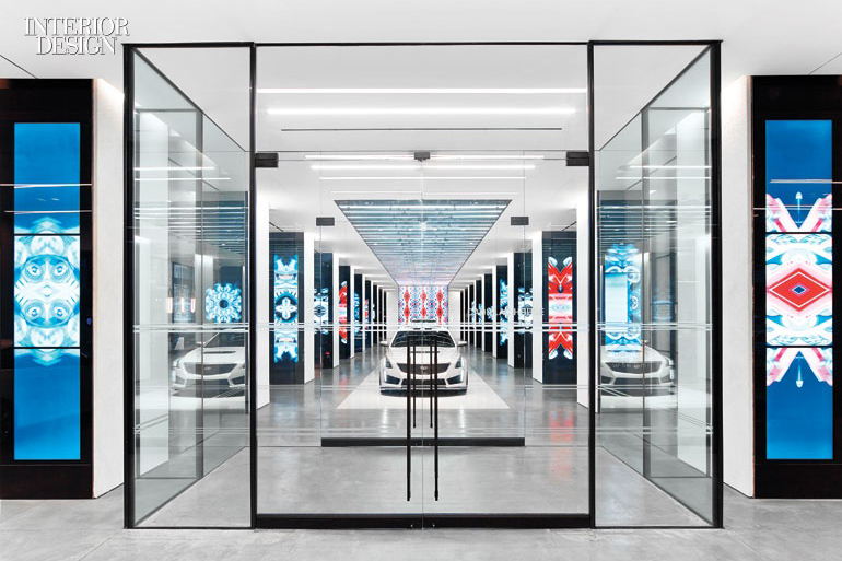 Structural Oversized Insulated Glass + Entrance.Cadillac – 330 Hudson Street, New York, NY -  Architect: Gensler