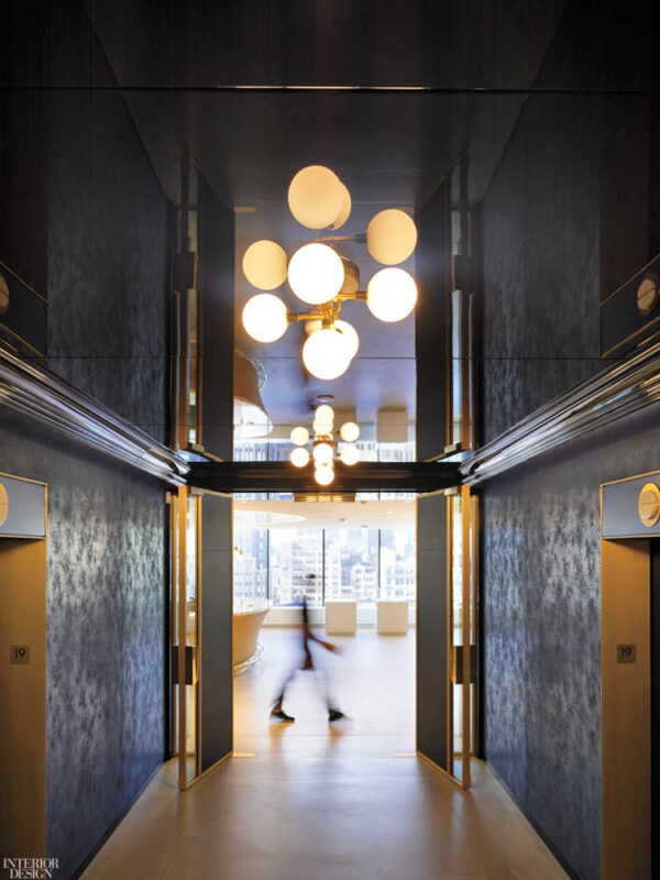 Custom Bronze Entrances With Leather Infill.Campari Group 1114 6th Avenue - New York, NY  Architect: Gensler