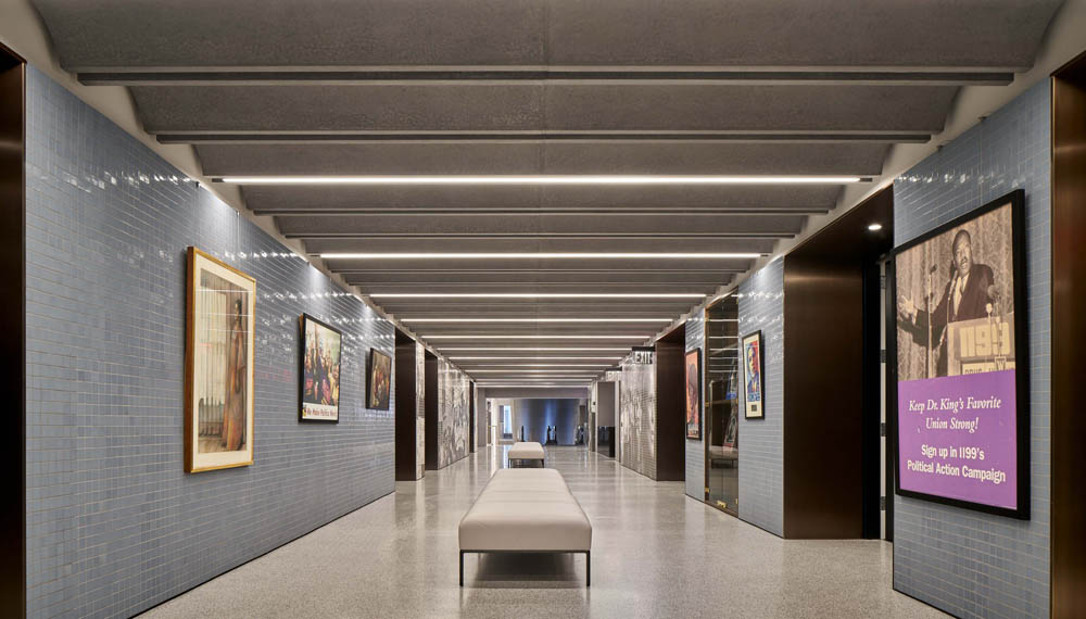 """Oversized Bronze Portals.1199 SEIU  498 7th Avenue – New York, NYArchitect:  David Adjaye Associates"""