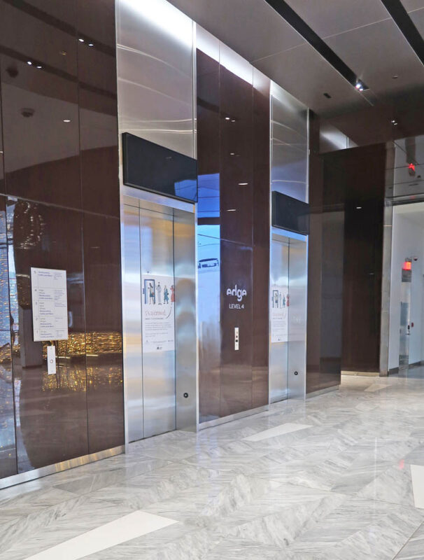 Stainless Steel Elevator Jambs + Headers.