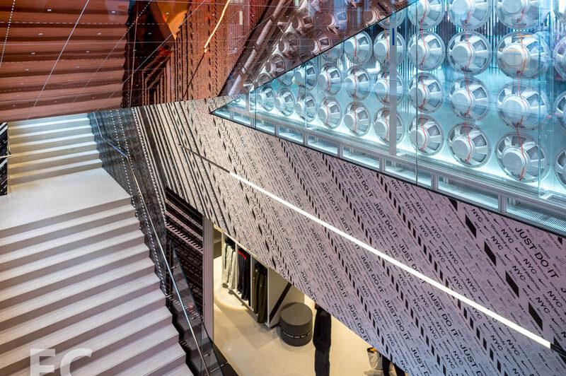 Custom Glass Guardrail.
